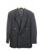 YS for men(ワイズフォーメン)の古着「ダブルブレストジャケット」 ブラック