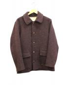 WEIRDO(ウィアード)の古着「メルトンジャケット」|ブラウン