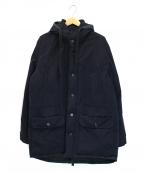 Acne(アクネ)の古着「デザインダウンジャケット」|ネイビー
