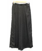 IENA(イエナ)の古着「フレアータックイージーパンツ」|ブラック