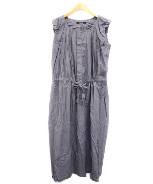 mizuiro-ind(ミズイロインド)mizuiro-ind (ミズイロインド) ノースリーブマキシフレアワンピース スカイブルー サイズ:下記参照の古着・服飾アイテム