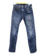 POLO RALPH LAUREN(ポロラルフローレン)の古着「デニムパンツ」|インディゴ