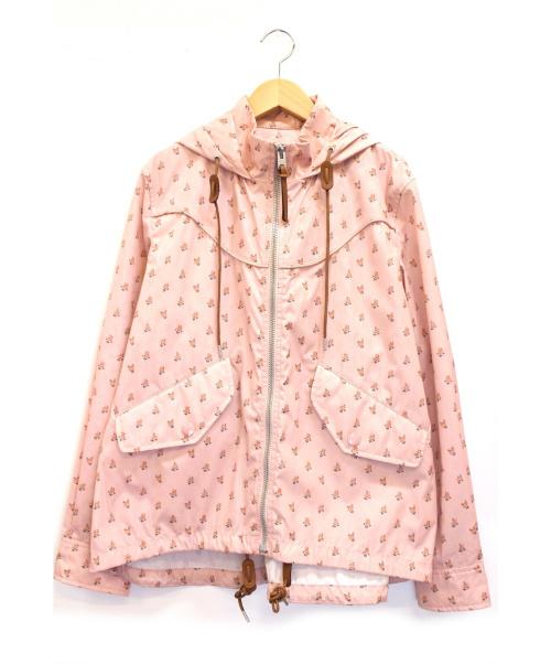 COACH(コーチ)COACH (コーチ) フーデッドジャケット ピンク サイズ:下記参照 SIGNATURE FLORAL WINDBREAKERの古着・服飾アイテム