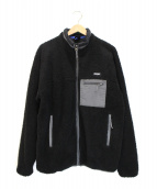ONLY NY(オンリーニューヨーク)の古着「ボアジャケット」|ブラック