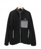 ONLY NY(オンリーニューヨーク)の古着「ボアジャケット」 ブラック