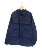 PROPPER(プロッパー)の古着「ファティーグジャケット」|ネイビー