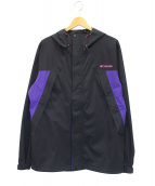 Columbia(コロンビア)の古着「ザ・スロープジャケット」|ブラック×パープル