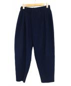 HOMME PLISSE ISSEY MIYAKE(オム プリッセ イッセイ ミヤケ)の古着「プリーツパンツ」 ブルー