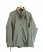 BURLAP OUTFITTER(バーラップアウトフィッター)の古着「ナイロンジャケット」|オリーブ