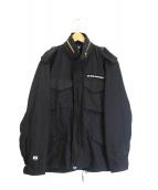 FPAR(フォーティーパーセンツ アゲインストライツ)の古着「M65ジャケット」 ブラック