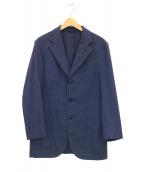 VALDITARO(ヴァルディターロ)の古着「コットン3Bジャケット」|ネイビー