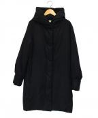 Rouge vif(ルージュヴィフ)の古着「中綿コクーンコート」 ブラック