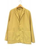 DESCENTE(デサント)の古着「ムソウジャケット」|イエロー