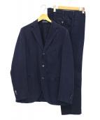 BOGLIOLI(ボリオリ)の古着「3Bセットアップスーツ」|インディゴ