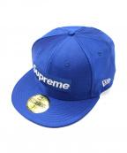 SUPREME×NEWERA(シュプリーム×ニューエラ)の古着「キャップ」|ブルー
