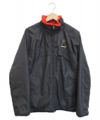 ()の古着「リバーシブルジャケット」|ブラック×レッド