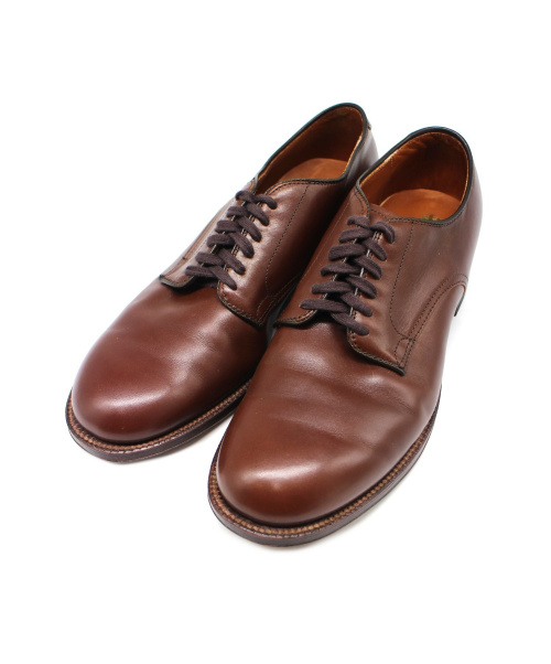 ALDEN(オールデン)ALDEN (オールデン) ミリタリーカーフシューズ ブラウン サイズ:9 53713の古着・服飾アイテム