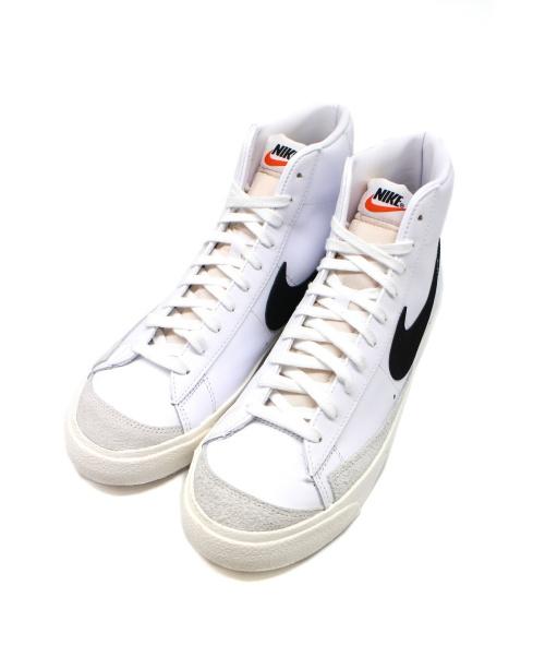 NIKE(ナイキ)NIKE (ナイキ) BLAZER MID 77 VINTAGE ホワイト×ブラック サイズ:下記参照 BQ6806-100の古着・服飾アイテム