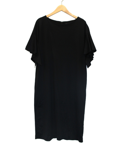 STRAWBERRY FIELDS(ストロベリーフィールズ)STRAWBERRY FIELDS (ストロベリーフィールズ) アクアスムースワンピース ブラック サイズ:2 未使用品の古着・服飾アイテム