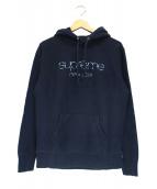 Supreme(シュプリーム)の古着「Multi Color Classic Logo Hoode」|ネイビー