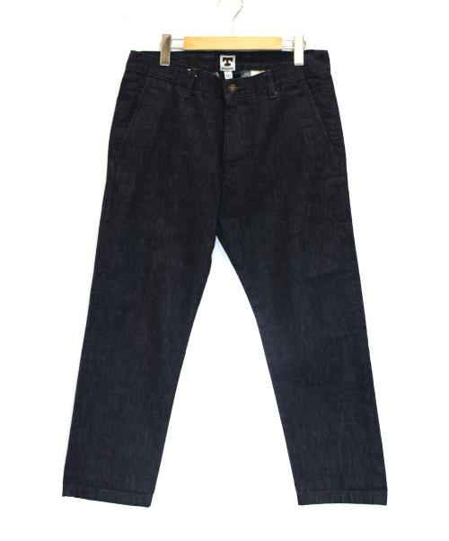 TELLASON(テラソン)TELLASON (テラソン) セルビッチコーンデニムパンツ インディゴ サイズ:81cm (W32)の古着・服飾アイテム