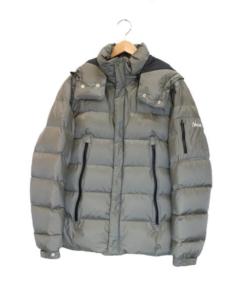 NANGA×MANUAL ALPHABET(ナンガ×マニュアルアルファベット)NANGA×MANUAL ALPHABET (ナンガ×マニュアルアルファベット) AURORAダウンジャケット オリーブ サイズ:下記参照 ×417 EDIFICEの古着・服飾アイテム