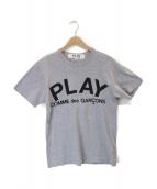 ()の古着「プリントTシャツ」 グレー