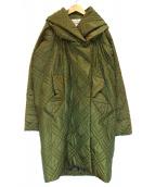 VIVIENNE WESTWOOD ANGLOMANIA(ヴィヴィアンウエストウッド アングロマニア)の古着「キルティングコート」 オリーブ