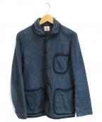 SAMURAI JEANS(サムライジーンズ)の古着「刺子ジャケット」 ネイビー