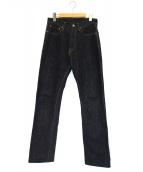 KAPITAL(キャピタル)の古着「セルビッチデニムパンツ」|インディゴ