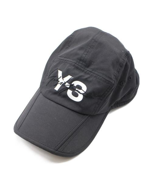 Y-3(ワイスリー)Y-3 (ワイスリー) FOLDABLE CAP ブラック サイズ:下記参照の古着・服飾アイテム