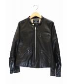 MAISON DE REEFUR(メゾンドリーファー)の古着「ラムレザージャケット」|ブラック