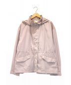 自由区(ジユウク)の古着「メモリータッサフード付ブルゾン」|ピンク