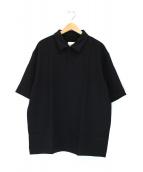 UNITED ARROWS & SONS(ユナイテッドアローズアンドサンズ)の古着「プルオーバーシャツ」|ブラック