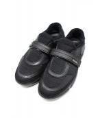 PRADA(プラダ)の古着「Cloudbust Knit Trainer」|ブラック
