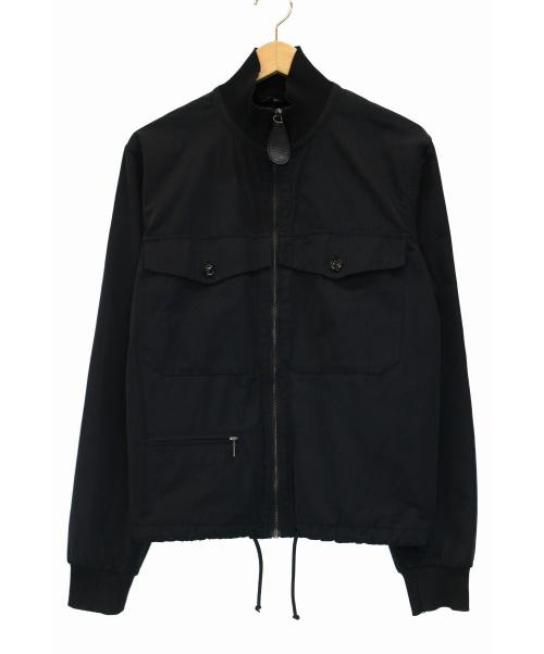 Maison Martin Margiela 10(メゾンマルタンマルジェラ)Maison Martin Margiela 10 (メゾンマルタンマルジェラ) ジップアップジャケット ブラック サイズ:44 12SSの古着・服飾アイテム