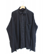 R BY 45rpm(アールバイ45アールピーエム)の古着「フロントポケットシャツジャケット」|インディゴ