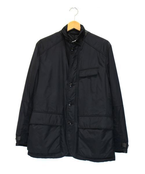 POLO RALPH LAUREN(ポロラルフローレン)POLO RALPH LAUREN (ポロラルフローレン) 中綿ジャケット ブラック サイズ:38Rの古着・服飾アイテム