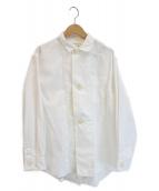 orSlow(オアスロウ)の古着「Big Button Commercial Shirt」|ホワイト