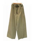 yleve(イレーヴ)の古着「ハカマイージーパンツ」 ブラウン