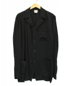 DRIES VAN NOTEN(ドリスヴァンノッテン)の古着「【古着】90~00'sオープンカラージャケット」|グレー