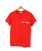 WIND AND SEA(ウィンダンシー)の古着「コラボプリントTシャツ」|レッド