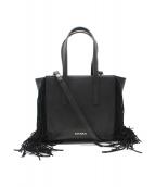 MAX&Co.(マックスアンドコー)の古着「サイドタッセル2WAYバッグ」|ブラック