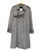 LONDON FOG(ロンドンフォグ)の古着「ライナー付トレンチコート」 グレー