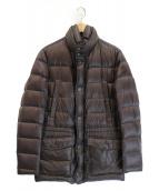 HERNO(ヘルノ)の古着「ダウンジャケット」|ブラウン
