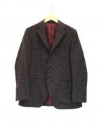 azabu tailor(アザブテーラー)の古着「段返り3Bジャケット」 ブラウン