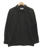 ()の古着「ロングスリーブビッグシャツ」|ブラック
