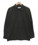 X-LARGE(エクストララージ)の古着「ロングスリーブビッグシャツ」|ブラック