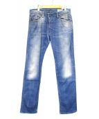 DIESEL(ディーゼル)の古着「デニムパンツ」 インディゴ