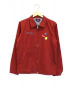 ROTAR(ローター)の古着「メカパンダ刺繍ブルゾン」 レッド